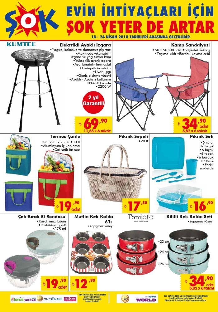 Piknik Seti ve Kamp Sandalyesi