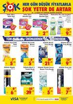 ŞOK Aktüel Ürünler 7 Kasım 2018 Fırsat Ürünleri - Gillette Kampanyası