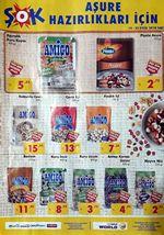 ŞOK Market 19 Eylül 2018 Kataloğu - Aşurelik Ürünler