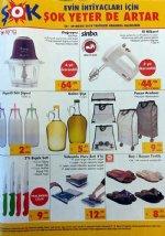 ŞOK Market 23 Mayıs 2018 Katalogu - Sinbo El Mikseri