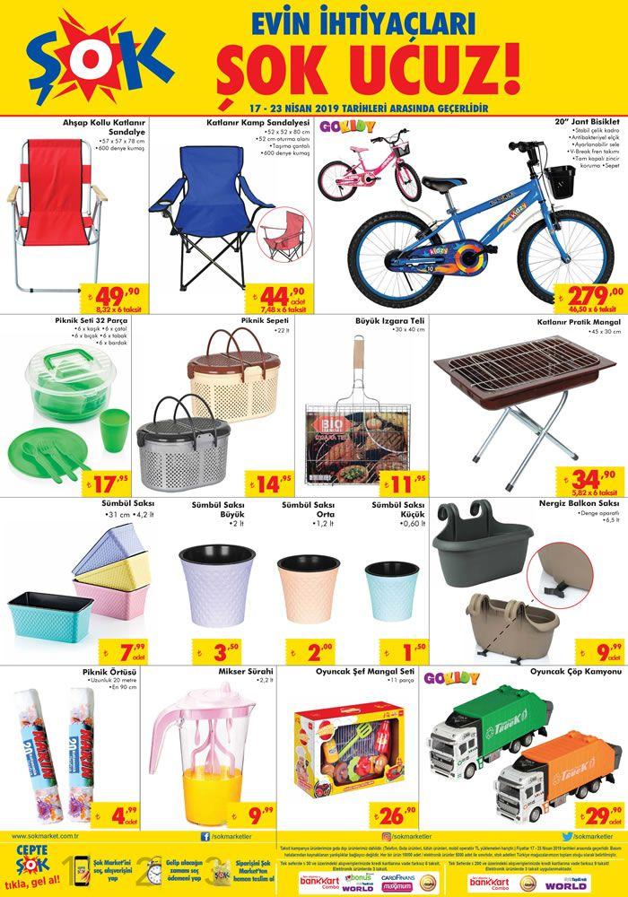 ŞOK 17 Nisan 2019 Çarşamba Fırsatları - Piknik Malzemeleri