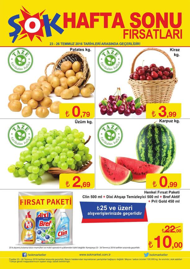 ŞOK Fırsat Ürünleri 23.07.2016 Katalogu - Henkel Fırsat Faketi