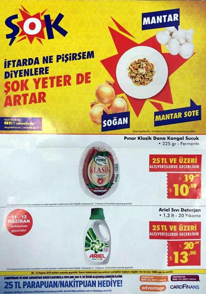 ŞOK Market 09.06.2018 Fırsatları - Ariel Sıvı Deterjan