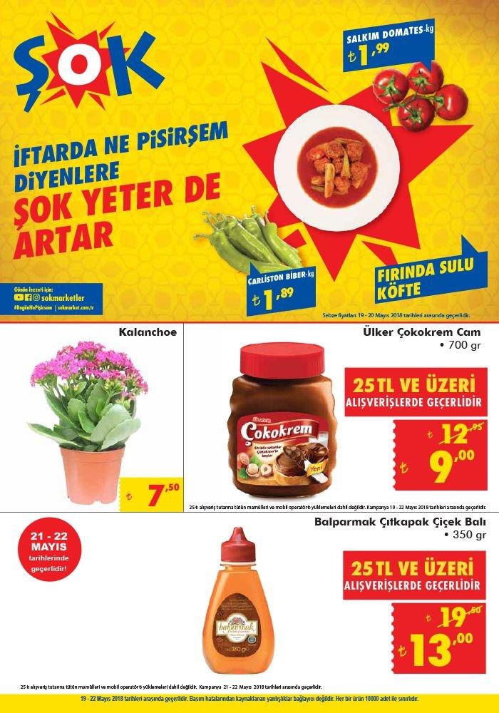 ŞOK Market 19 Mayıs Fırsatları - Ülker Çokokrem