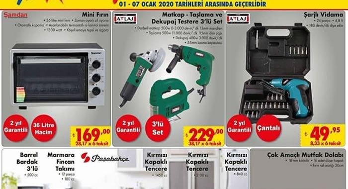 ŞOK 1 Ocak 2020 Aktüel Ürünler Kataloğu