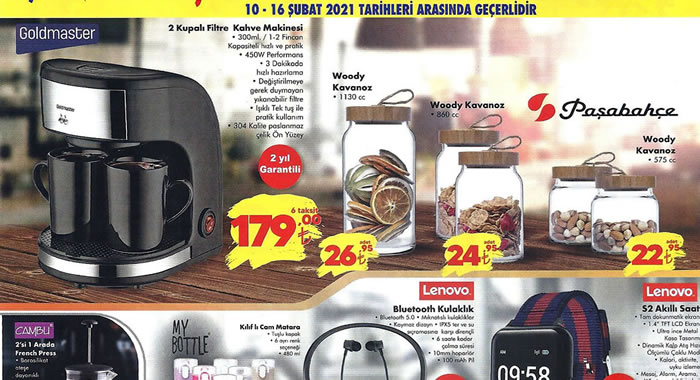 ŞOK 10 Şubat 2021 Aktüel Ürünler Kataloğu