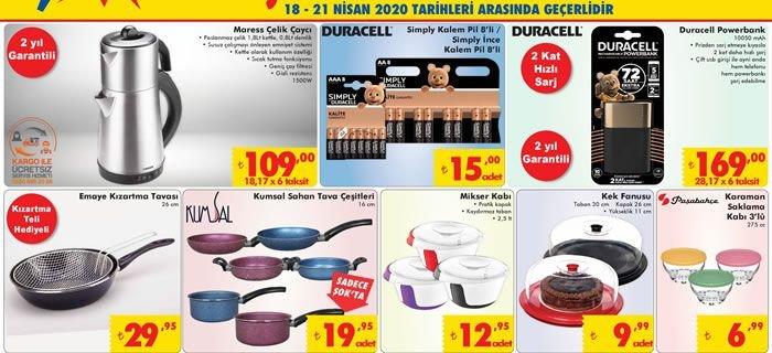 ŞOK 18 Nisan 2020 Aktüel Ürünler Kataloğu