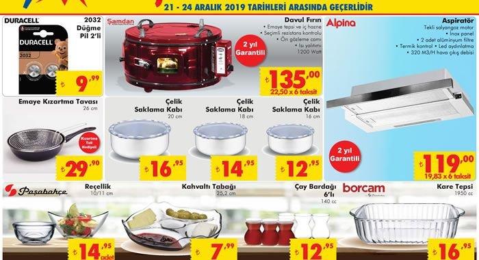 ŞOK 21 Aralık 2019 Aktüel Ürünler Kataloğu