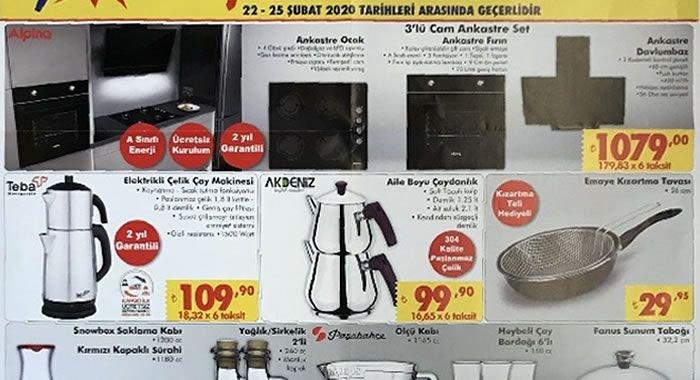 ŞOK 22 Şubat 2020 Aktüel Ürünler Kataloğu