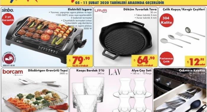 ŞOK 5 Şubat 2020 Aktüel Ürünler Kataloğu