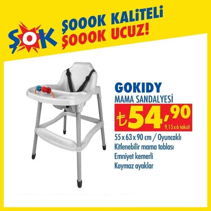 GoKidy Mama Sandalyesi ( ŞOK 18 Aralık 2020 )