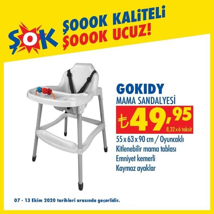 GoKidy Mama Sandalyesi ( ŞOK 7 Ekim 2020 )