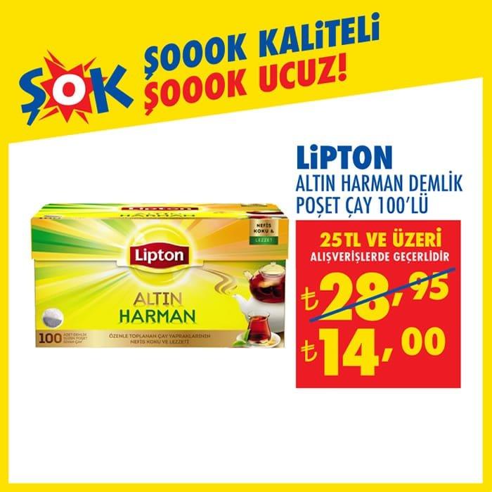 Lipton Altın Harman Demlik Poşet Çay ( ŞOK 2 Aralık 2020 )