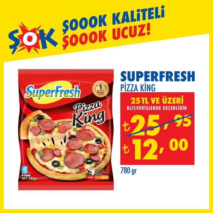 SuperFresh Pizza King ( ŞOK 2 Aralık 2020 )