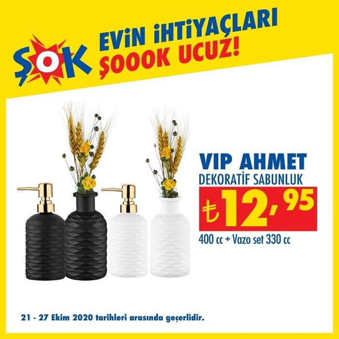 Vip Ahmet Dekoratif Baharatlık ( ŞOK 21 Ekim 2020 )