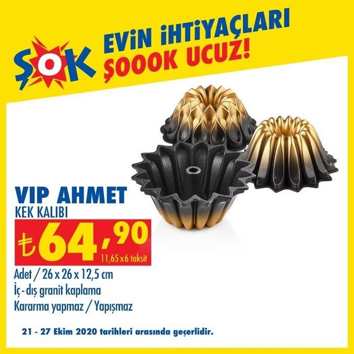 Vip Ahmet Kek Kalıbı ( ŞOK 21 Ekim 2020 )