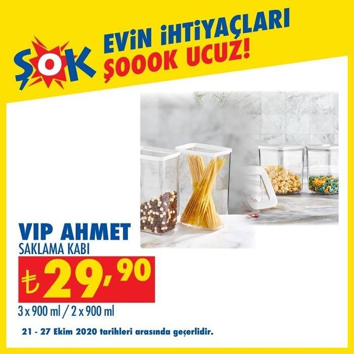 Vip Ahmet Saklama Kabı ( ŞOK 21 Ekim 2020 )